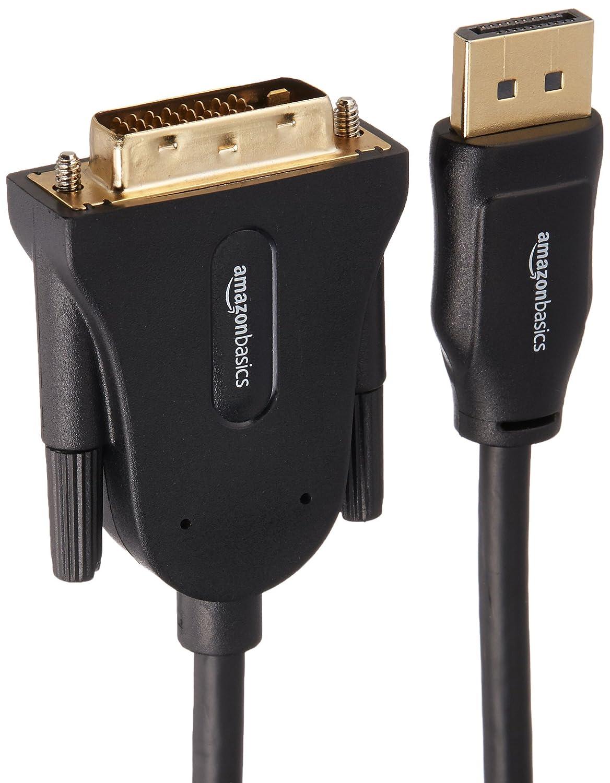 Basics DisplayPort to DVI Display Cable 10 Feet
