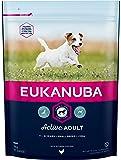 Eukanuba Adult Premium Hundefutter für kleine Rassen mit neuer und verbesserter Rezeptur – Trockenfutter für ausgewachsene Hunde von 1-8 Jahren in der Geschmacksrichtung Huhn