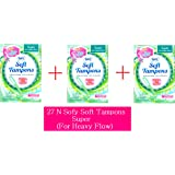 Sofy Soft Tampons 27 Piece For Super Heavy Flow