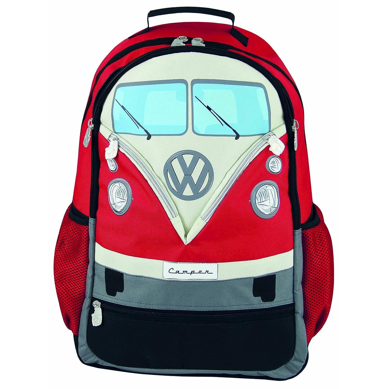 (フォルクスワーゲンコレクション) VW Collection リュックサック バックパック 43x37x13cm レッド B07DH2KZM4