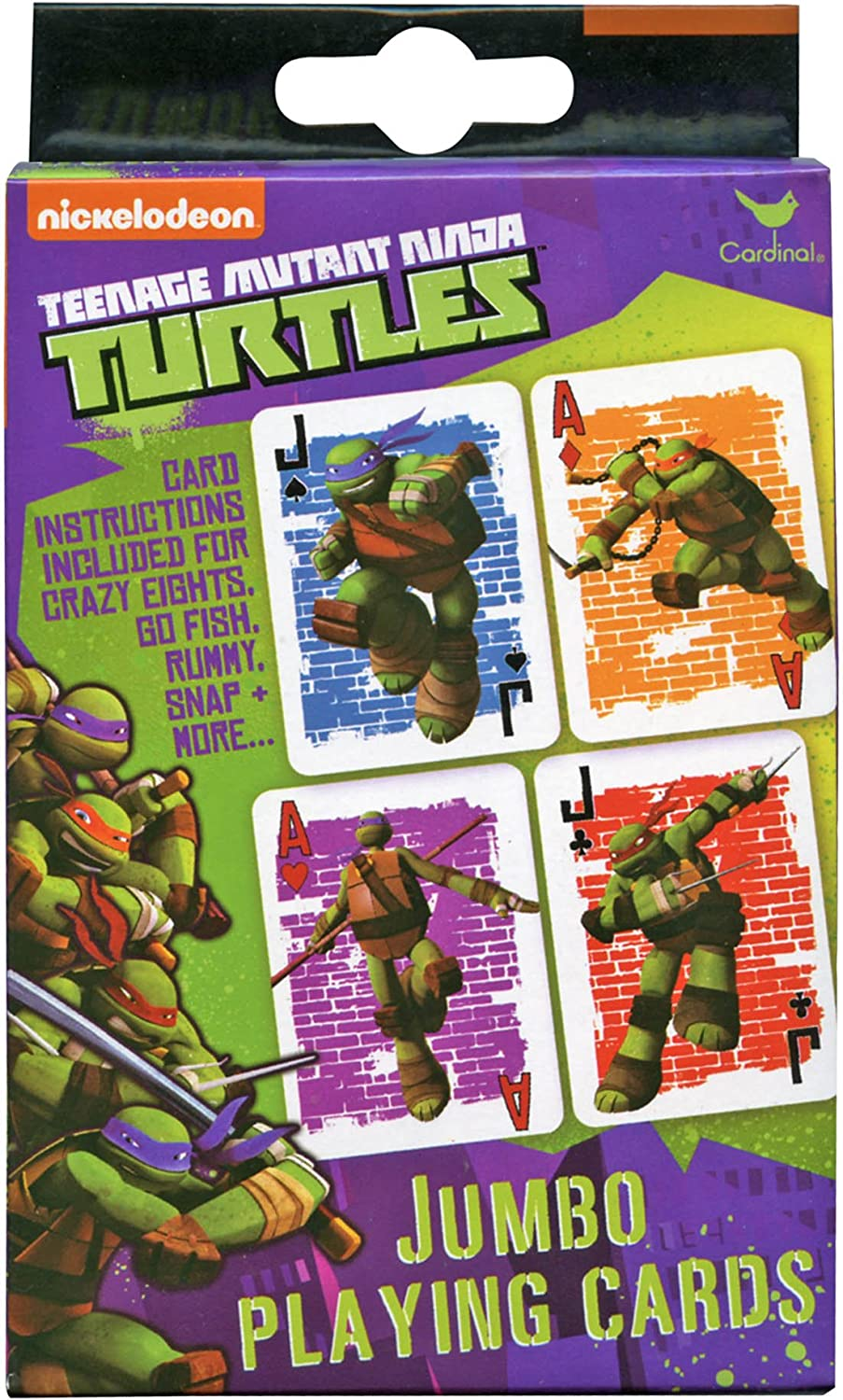 Amazon.com: Teenage Mutant Ninja Turtles Jumbo jugando ...
