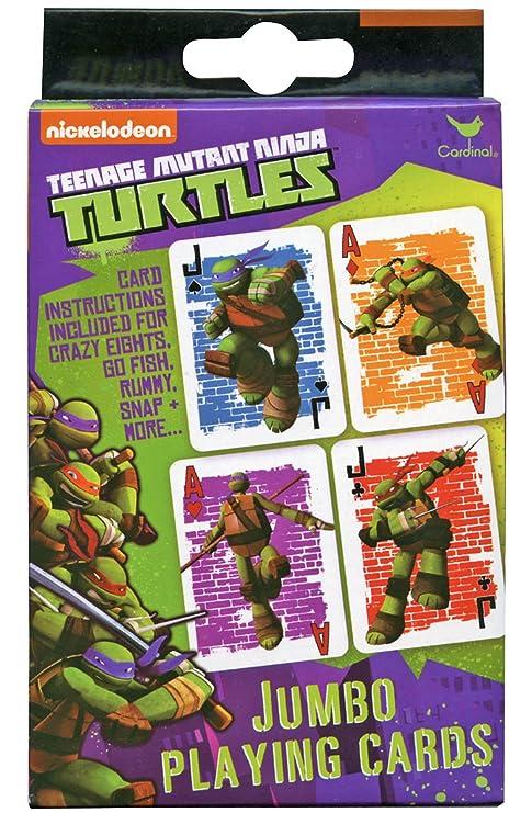 Nickelodeon Teenage Mutant Ninja Turtles Jumbo Playing Cards ...