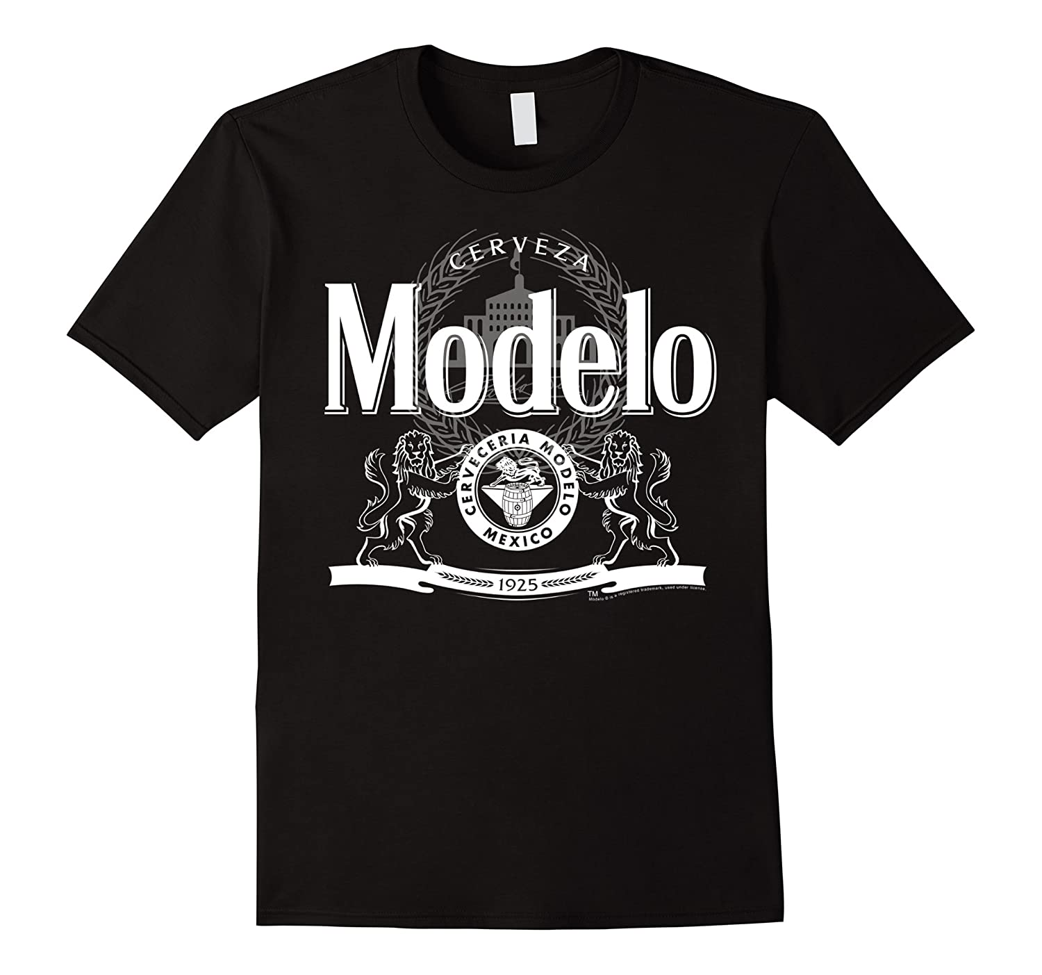 Classic Modelo Logo Graphic T-Shirt Gift For Him-ANZ