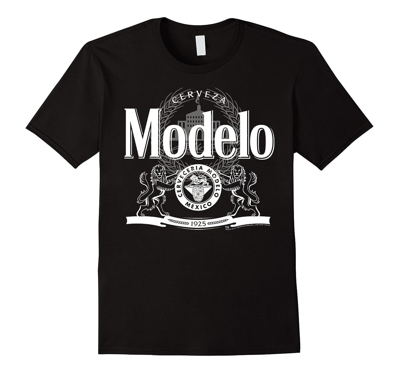 Classic Modelo Logo Graphic T-Shirt Gift For Him-FL