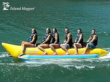 Amazon.com: Island Hopper Comercial plátano Boat 6 Passenger ...