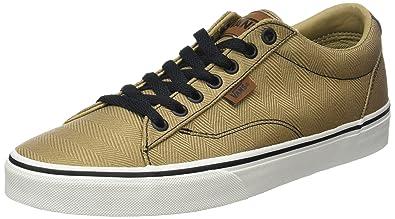 Vans Herren Mn Dawson Sneakers, Beige (Herringbone), 40 EU