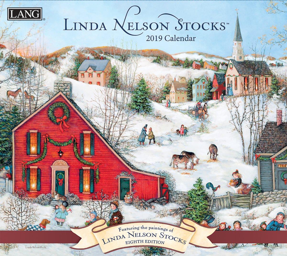 The Lang Companies Linda Nelson Stocks 2019 Wall Calendar (19991001924) by The LANG Companies (Image #1)