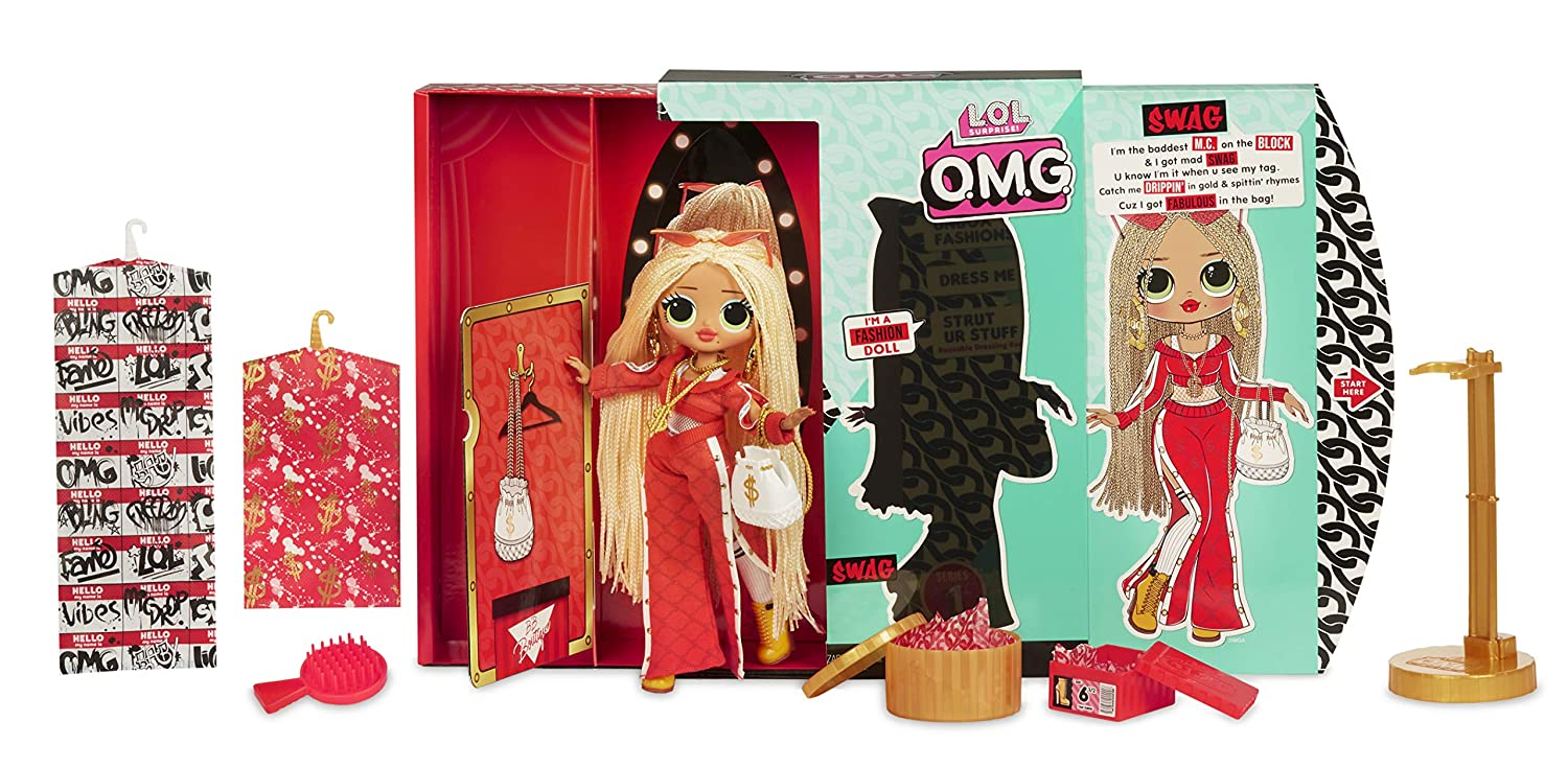 LOL Surprise! OMG Swag Fashion Doll with 20 Surprises