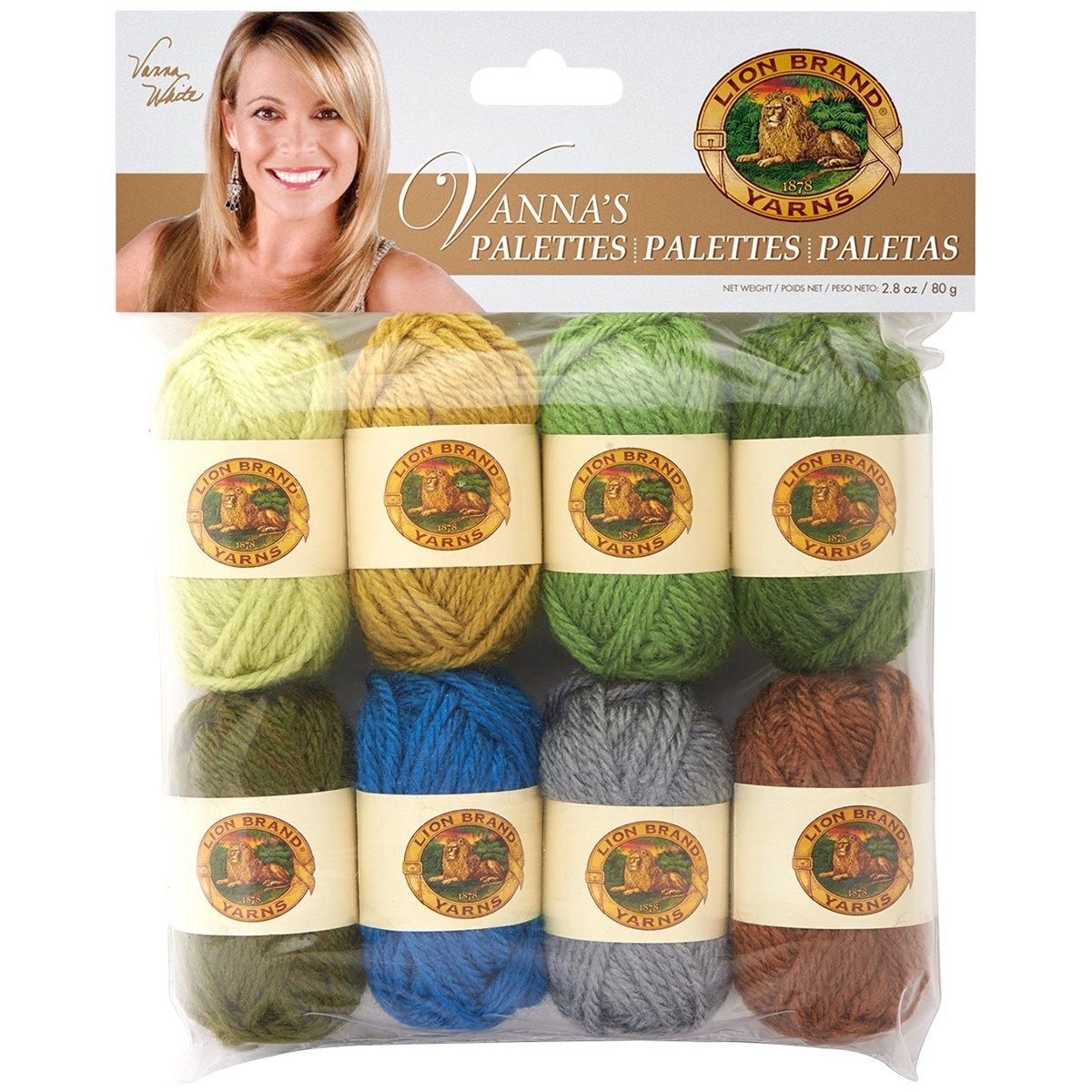 Lion Brand Yarn 865-204 Vanna's Palettes Yarn, Charming