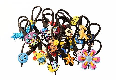 AVIRGO 6 piezas Soft Zipper Pull Cremalleras Set # Adornos para Cazadoras Bolsas Cremalleras Random