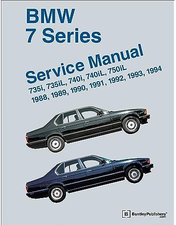 BMW 7 Series Service Manual 1988-1994 (E32): 735i, 735L,
