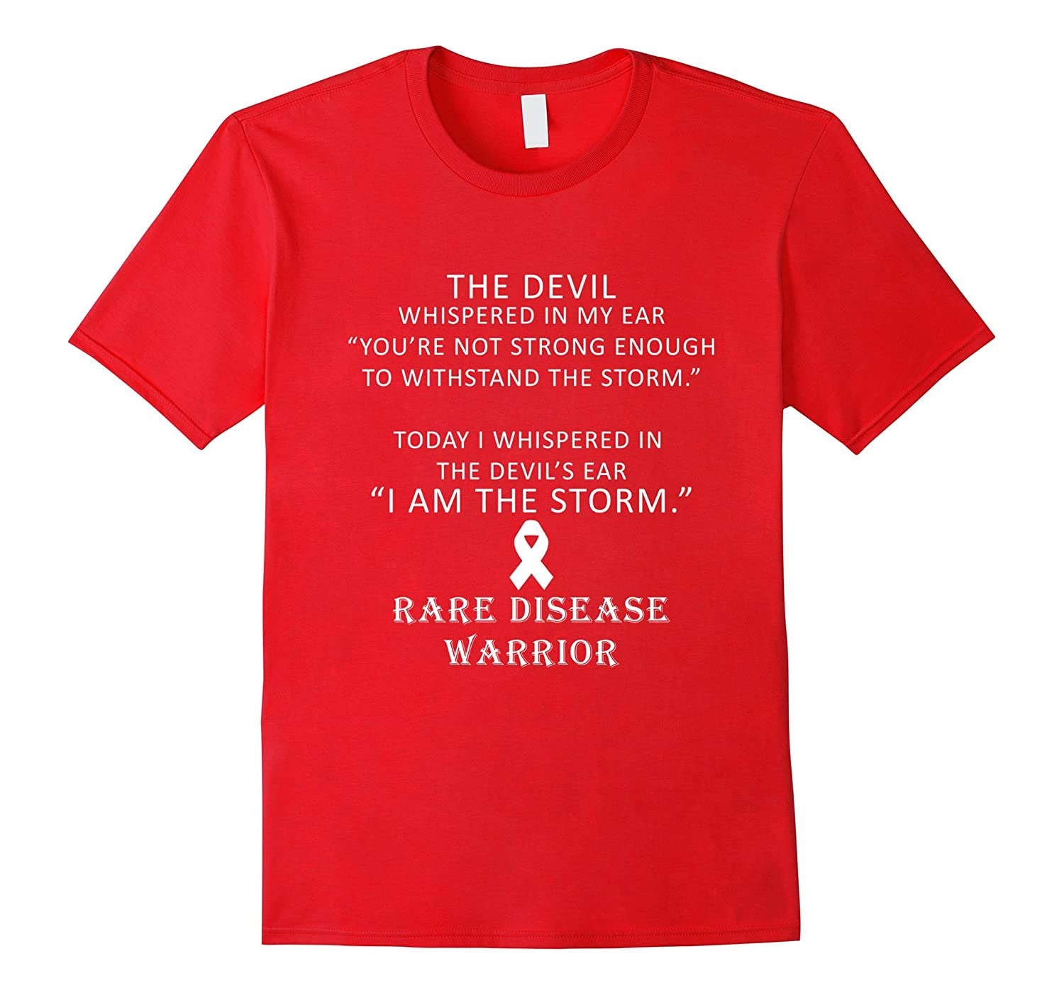 The devil whispered in my ear T-Shirt-TD