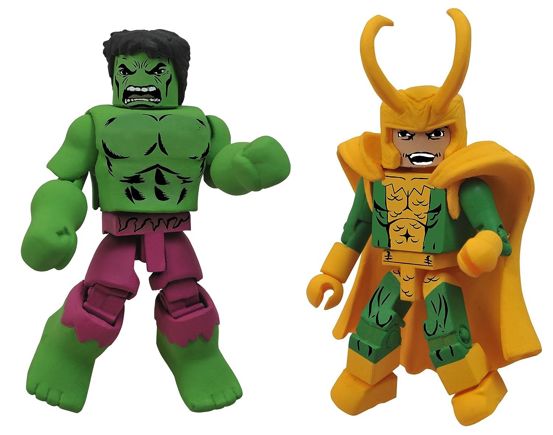 Minimates – Hulk + Loki