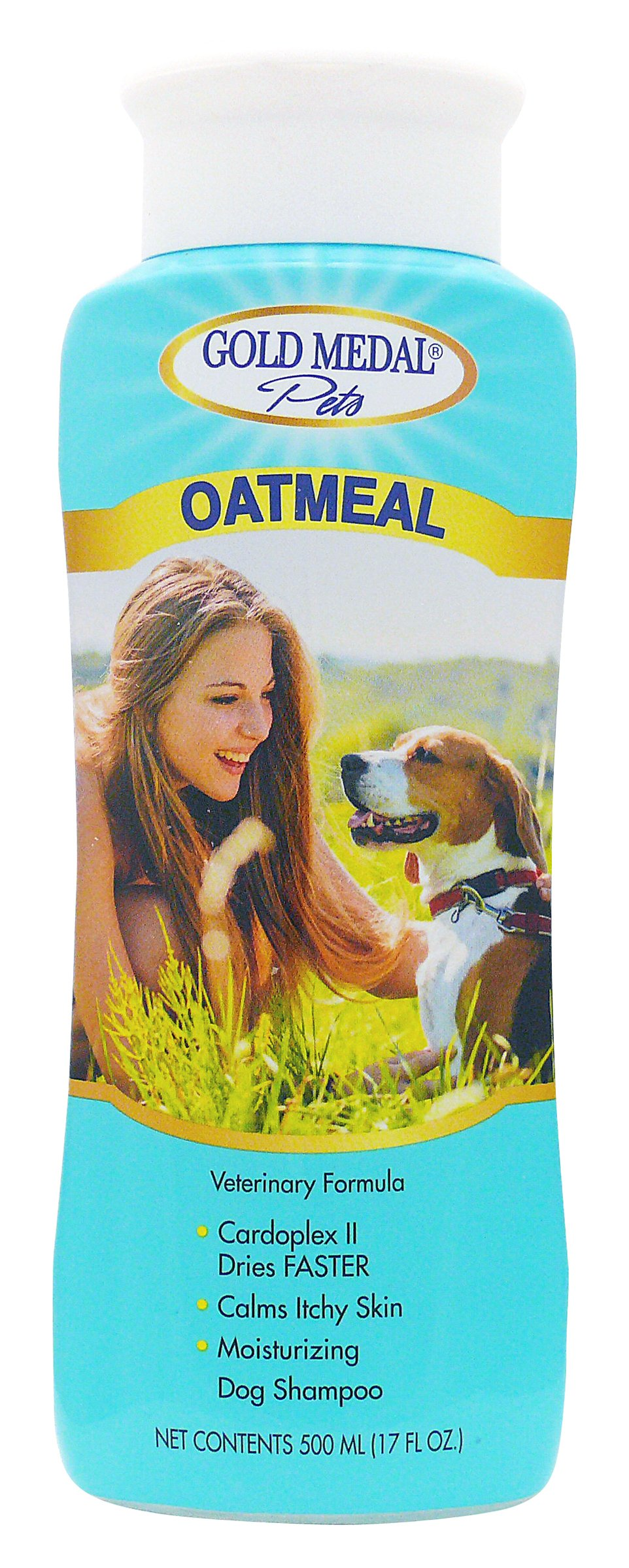Gold Medal Pets Oatmeal Soothing Shampoo for Dogs, 17 oz.