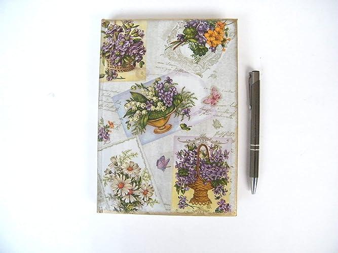 Agenda 2019 Floral Diario con horario Regalo para Navidad ...