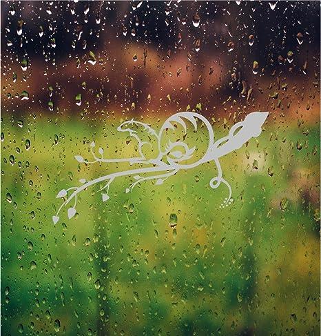 Ardilla rama flores DIY vinilo de privacidad para ventanas de vidrio grabado adhesivos de puerta de cristal frontal deslizante para mampara de ducha de vinilo pegatinas de puerta ventana adhesivo: Amazon.es: Hogar