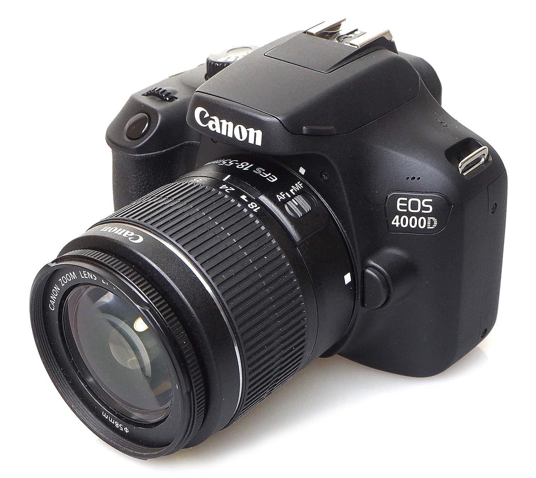 Canon EOS 4000d 18 – 55 See cámara, Negro