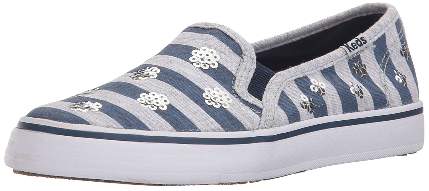 Keds Double Decker Slip On Sneaker (Little Kid/Big Kid) Double Decker - K