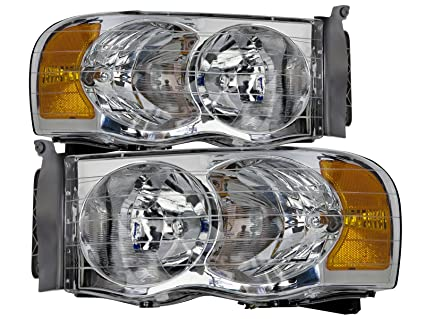 Amazon Com Headlights Depot Replacement For Dodge Ram 1500 2500