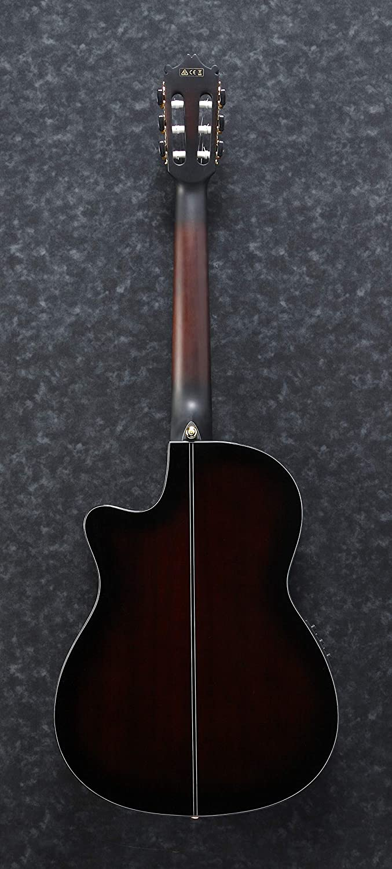 Ibanez GA35TCE-DVS Guitarra clásica, Dark Violin Sunburst: Amazon ...