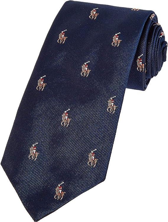 Polo Ralph Lauren Madison Polo Player Logo - Corbata de seda ...