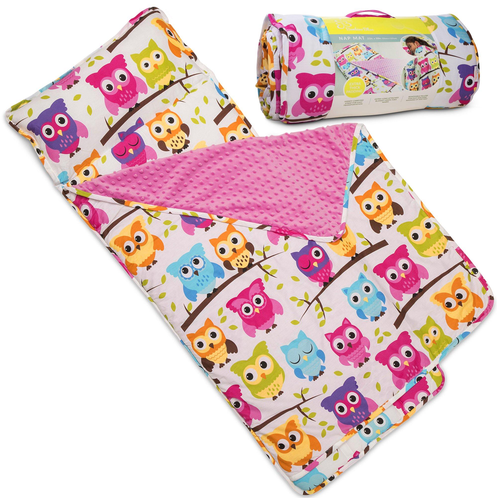 Amazon Com Kids Nap Mat With Removable Pillow Soft