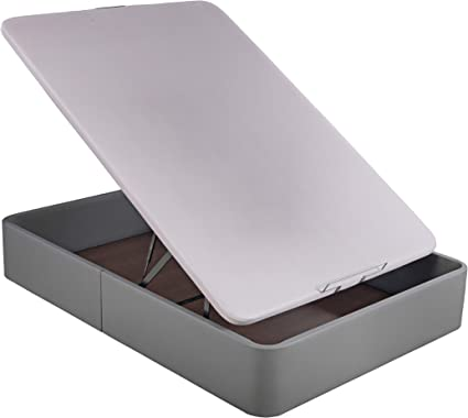 Sunlay Canapé Abatible tapizado Modelo: Spacebox Gris 135x190 ...