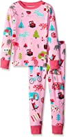 Little Blue House by Hatley Girls' Long Sleeve Printed Pajama Sets