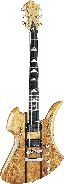 B.C. ricos Mockingbird Exotic – Guitarra eléctrica, madera de arce ...