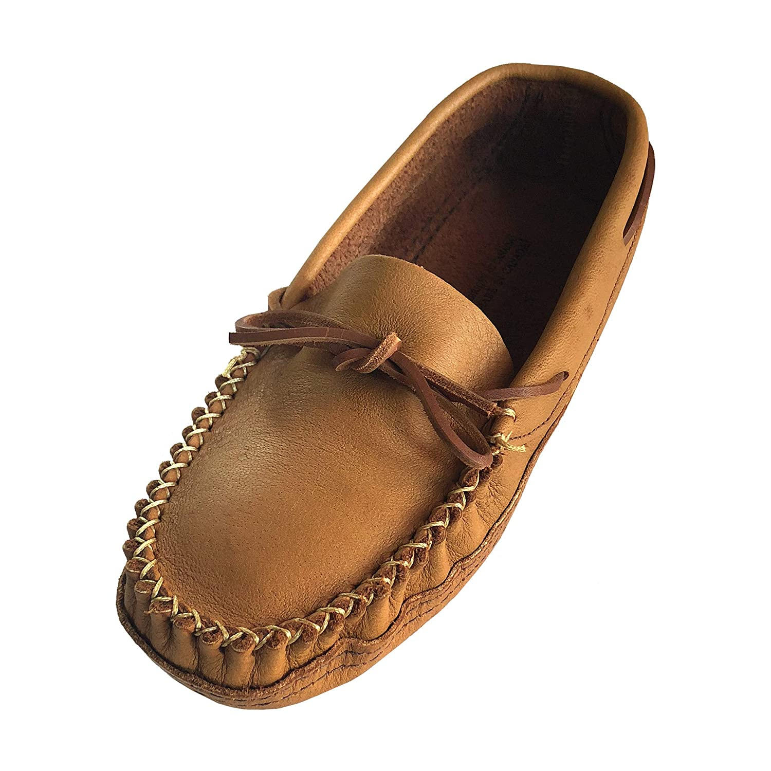 - Alfred Cloutier Wakonsun Men's Wide Width Earthing Grounding Natural Cork Leather Moccasins