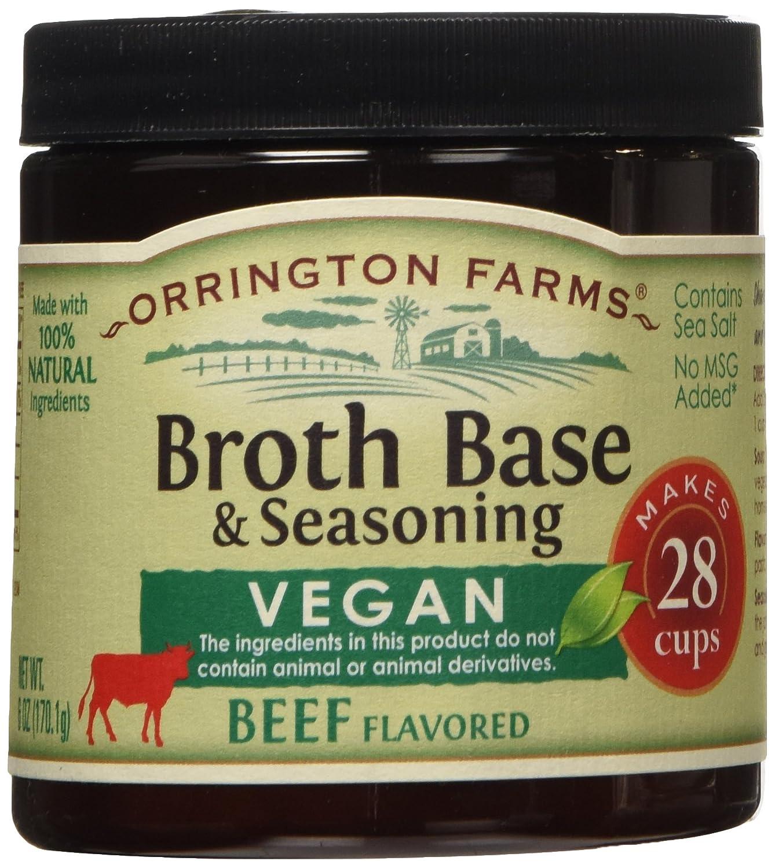 Vegan Beef Flavored Broth Base