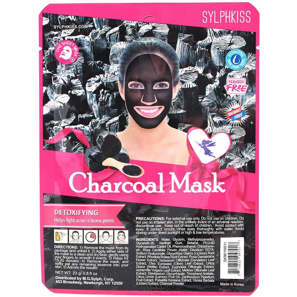 Amazon.com : Sylphkiss Full Face Facial Mask Sheet Combo (Set of 6) : Beauty