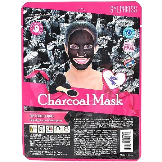 Amazon com : Sylphkiss Full Face Facial Mask Sheet Combo (Set of 6