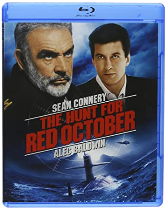 Amazon Com The Hunt For Red October Blu Ray Connery Baldwin Glenn Movies Tv