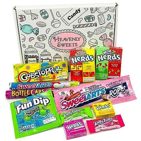Kleiner Amerikanische Wonka-Süßigkeiten Geschenkkorb   Süßigkeiten ...