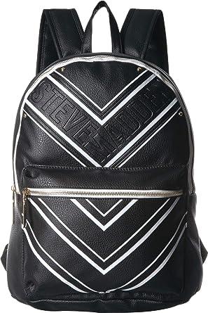 7259c234d6f Amazon.com: Steve Madden Women's Bchase Black/White One Size: Clothing
