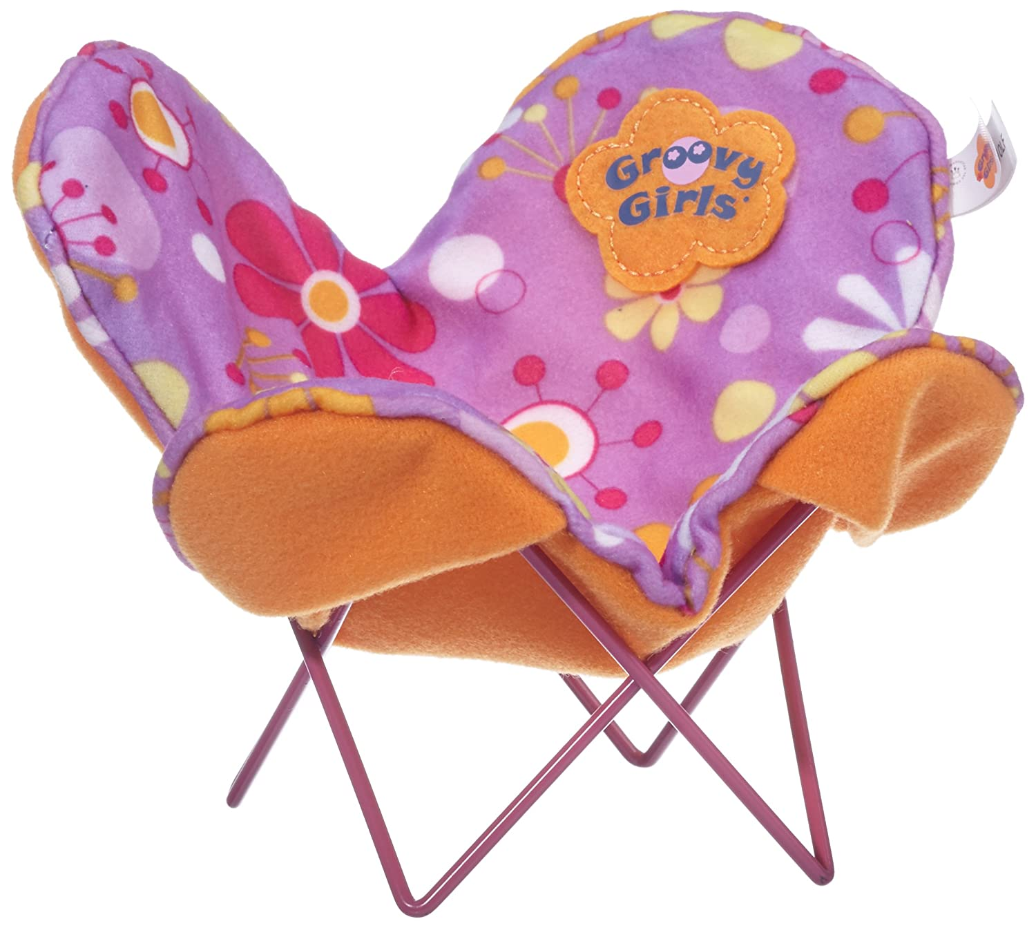 Amazon.com Manhattan Toy Groovy Girls Be Relaxed Butterfly Chair Doll Furniture Toys u0026 Games  sc 1 st  Amazon.com & Amazon.com: Manhattan Toy Groovy Girls Be Relaxed Butterfly Chair ...