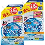 【まとめ買い 大容量】トップ スーパーナノックス 洗濯洗剤 液体 詰め替え 950g×2個