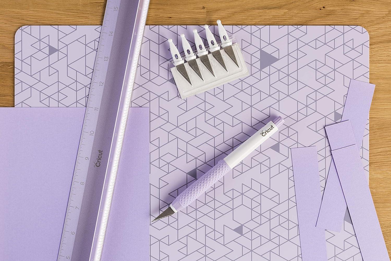12 x 12, Cricut 2005436 Deco Lilac 12X12 Self Healing Mat