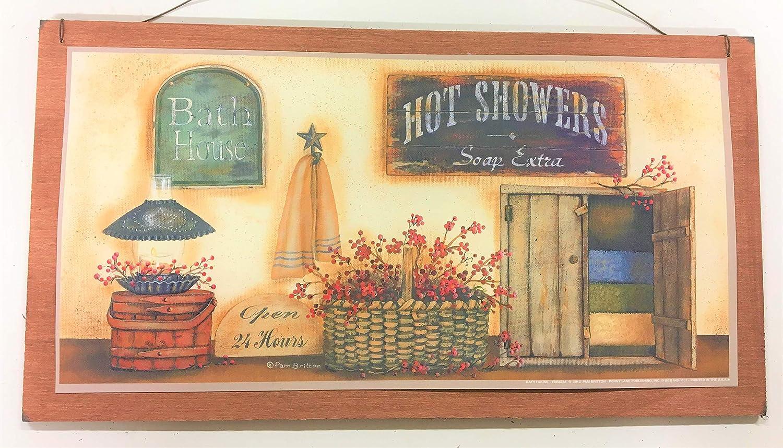 Amazon.com: The Little Store Of Home Decor Bath House Open 24 Hours ...