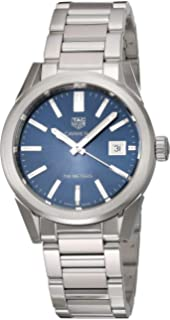 Tag Heuer Carrera Blue Dial Midsize Stainless Steel Watch WBG1310.BA0758