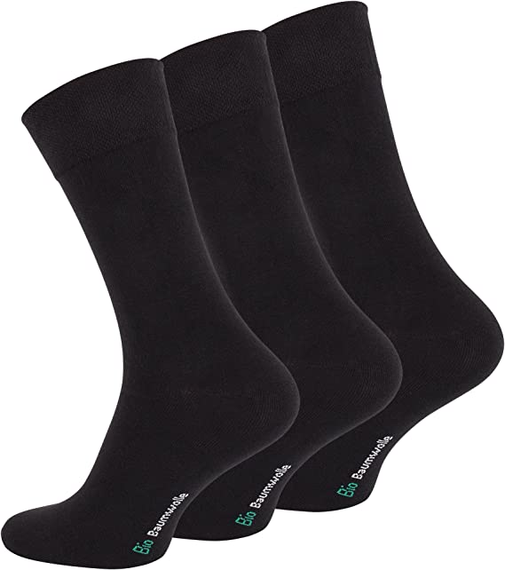 12 pares de calcetines para hombre Medias bio con algodón: Amazon.es: Ropa y accesorios