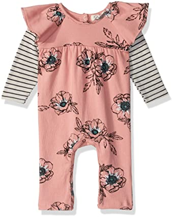 Jessica Simpson Baby Clothes Stunning Amazon Jessica Simpson Baby Girls Floral Coverall Clothing