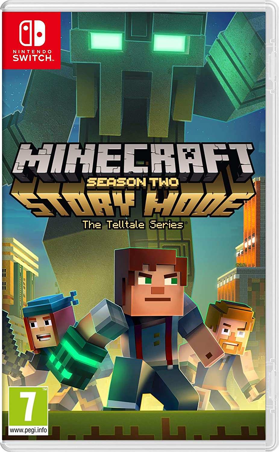 Minecraft Story Mode - Season 2 - Nintendo Switch [Importación ...