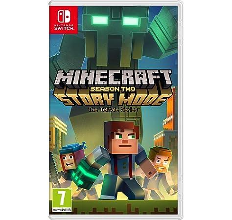 Minecraft: Story Mode - The Complete Adventure (Switch): Amazon.es: Juguetes y juegos
