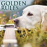 Golden Rules 2021 Wall Calendar (Dog Breed Calendar)