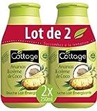 Cottage Douche Lait Ananas/Crème de Coco 2 x 250 ml - Lot de 3