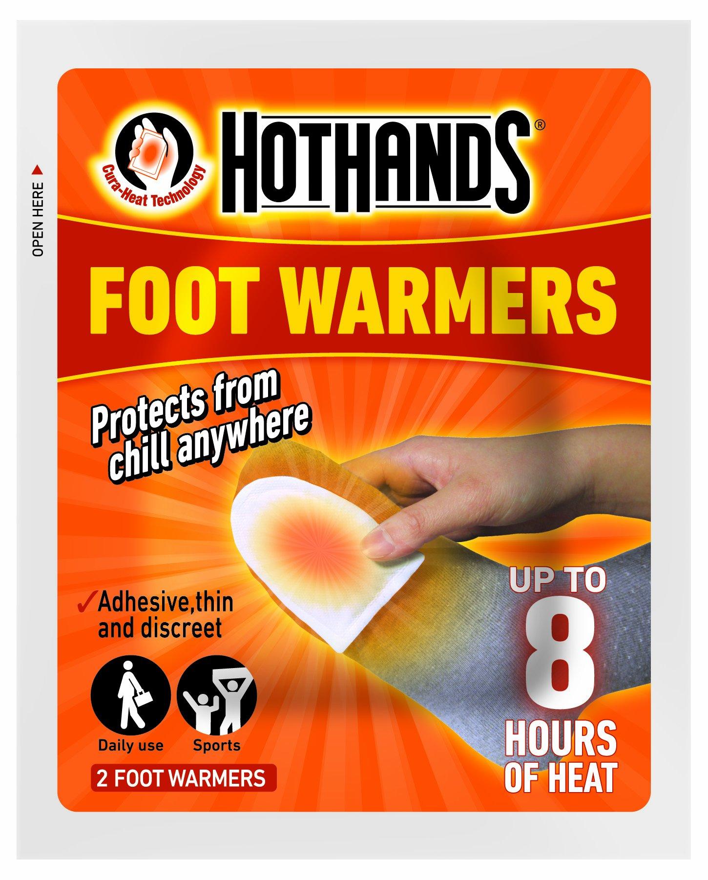 HeatMax Hot Hands Foot Warmers 6 pairs