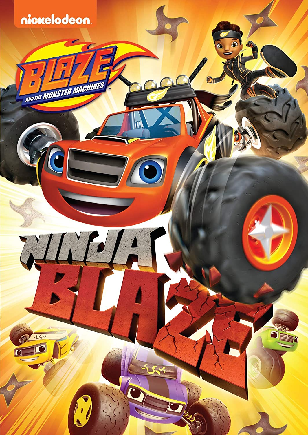 Amazon Com Blaze And The Monster Machines Ninja Blaze Movies Tv
