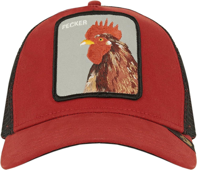Goorin Bros animales parche Gorra de béisbol rojo: Amazon.es ...